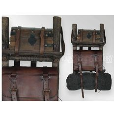Brown Leather Imperial Backpack - Epic Armoury Canada