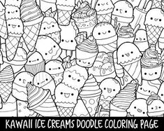 Doodle coloring pages printable ice cream coloring pages as well as ice creams doodle coloring page . doodle coloring pages Ice Cream Coloring Pages, Witch Coloring Pages, Penguin Coloring Pages, Fruit Coloring Pages, Fish Coloring Page, Mermaid Coloring Pages, Cute Coloring Pages, Doodle Coloring, Printable Coloring Pages