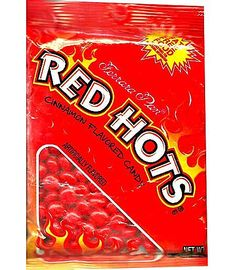 Red Hots Candy - These are still my favorite. They used to come in the little plastic cups and my mom would pour some into the lid to go with my lunch on the coffee table while I watched cartoons.