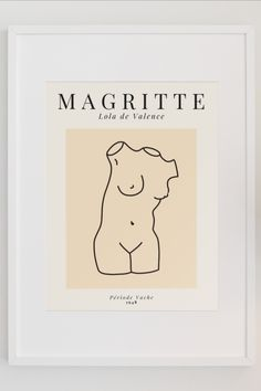 Magritte, Museum Art Gallery, Art Museum, Art Exhibition Posters, Side Wall, Art Life, Inspirational Wall Art, Poster Prints, Art Prints