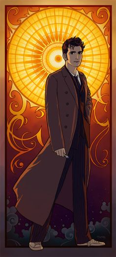 Ten Doctor Who fan art