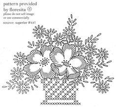 superior 137 - basket pattern by floresita's transfers, via Flickr