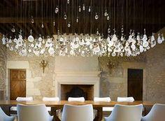 kitchen table light idea