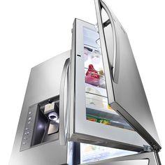 I want this fridge with a door inside the door!