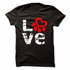Love Dogs T-shirt For Guys