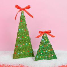 Picture of Cardboard Christmas Trees