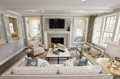 beige ivory living room decor design interior