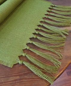 Thanksgiving Burlap Runner Moss Green 7 more GREEN shades