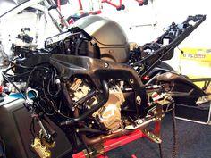BRS workshop Bmw S1000RR BRS Suspension Works www.brssuspensionworks.nl