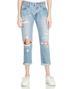 Levi's 501 CT Boyfriend Jeans in Time Gone By