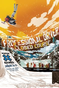 X Games  Poster Series