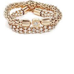 GUESS Dina Gold-Tone Fireball Bracelet Set ($28) ❤ liked on Polyvore featuring jewelry, bracelets, gold, gold tone jewelry, gold bangle bracelet set, gold bangles, gold jewellery and gold jewelry