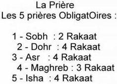 Les 5 Prières