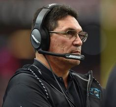 Panthers Falcons Football Carolina Panthers head coach Ron Rivera watches play against the Atlanta Falcons during the first half of an NFL football game, Sunday, Oct. 2, 2016, in Atlanta. (AP Photo/Rainier Ehrhardt)