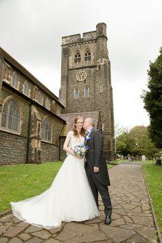 #brideandgroom #weddingphotography #cardiffwedding #wedding #churchwedding