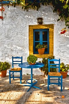 Kos, Greece. So colorful! #Travel #Places
