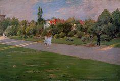 William Merritt Chase - Prospect Park, Brooklyn 1887