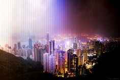 These Gorgeous Sunrises and Sunsets Are Made From Slices of Time | Hong Kong: 57 photos. 1 hour 40 minutes. | Credit: Dan Marker-Moore | From Wired.com