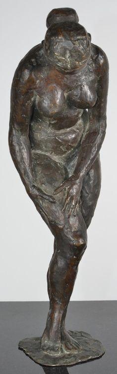 Bronze Sculpture, Lion Sculpture, Manners, Thigh, Sweden, 19th Century, Naked, Hands, Statue