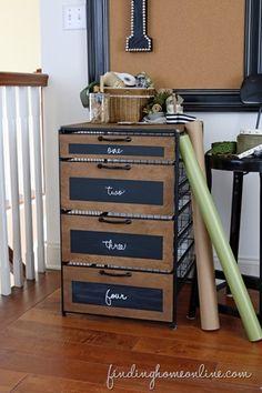 Ribbon Storage Cabinet