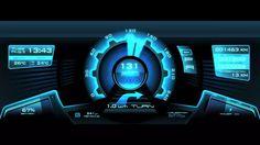 FUTURE DESIGN - Hi-Tech Car User Interface GUI / Dashboard Speedometer on Vimeo