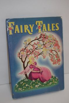 Whitman Fairy Tales Book1945Lithograph by JunkinForJoyBooks, $39.50