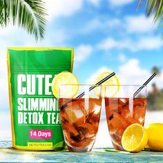Ingredients of CUTEA Detox Tea: Organic Green Tea, Organic Tulsi (aka Holy Basil), Organic Spearmint, Organic Rose Hips, Organic Lemon Myrtle, Organic Linden Blossoms, Organic Ginger Root.