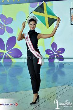 Kaci Fennell  Miss Jamaica Universe 2014 Miss Universe