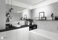 łazienka, 8m2 - Łazienka, styl minimalistyczny - zdjęcie od maii. architektura wnętrz