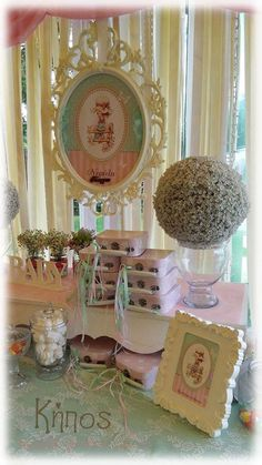 sharah kay βαφτιση shabby chic Sarah Key, Baby Shawer, Margarita, Christening, Shabby Chic, Bloom, Siri, Amanda, Party