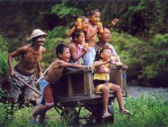 Happy in Bali ❀  Bali Floating Leaf Eco-Retreat ❀ http://balifloatingleaf.com ❀