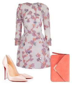 Untitled #93 by kanali on Polyvore featuring The 2nd Skin Co. and Christian Louboutin