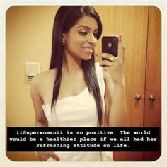 Superwoman is so positive. The world would be a better place if we had her refreshing attitude in our life.