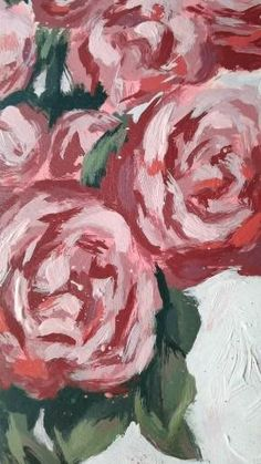 Rose Oil Painting, Plant Painting, Watercolor Paintings For Beginners, Acrylic Painting Lessons, Unusual Art, Abstract Canvas Art, Colorful Drawings, Art Blog, Gouache