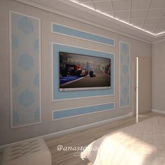 С помощью нескольких изогнутых секций молдингов можно создавать необычные формы и геометрические композиции на стенах. Особенно красиво такой настенный декор смотрится в спальнях или гостиных в классическом стиле. Использование бирюзы никогда не выйдет из моды. В сочетании с белым - придает стенам легкости и воздушности! #русскиедизайнеры #инстаграм #стиль #красота #дизайнстудия #дизайнпроект #дизайнквартиры #дизайндома #дизайнер #дизайн #студия #интерер #проект #bestinterior #interiorlover…