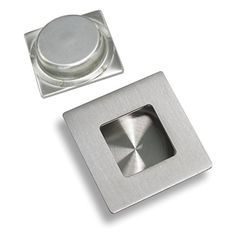 Gobrico 304# Stainless Steel Flush Pull Square 50mm50mm Recessed Insert Sliding Door Knobs, 1Pack:   Sliding Door Cabinet Drawer Handle Square Recessed Flush Pull Outer Size:50*50mm;Hole Size:40*40mm brRecessed flush pull handle, widely used for sliding door, cabinet, drawer, etcbrComes with mounting screws, easy to installbrGobrico is the best shopping choice in hardware market. It provides variety of designs,making on-trend, quality hardware affordable.Purchase at Low Price For Highe...