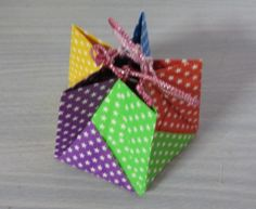 Toy Uncle: origami drawstring (drawstring)