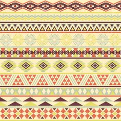 vintage tribal - Google Search Tribal Print Background, Background Vintage, Tribal Print Pattern, Tribal Prints, Vintage Soft, Soft Colors, Vector Art, Swatch, How To Draw Hands