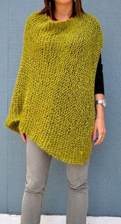 Looking for your next project? You're going to love Beginning Poncho by designer patricelongmire.