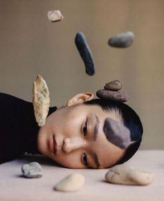 Cho Gi Seok — Brigitte Studio Studio Portrait Photography, Surrealism Photography, Art Photography, Jewelry Photography, Kinfolk Magazine, Editorial, Beauty Shoot, Creative Portraits, Sad Girl