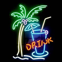 Cocktails palm tree real glass neon light beer bar pub sign t825 cocktails palm tree real glass neon light beer bar pub sign t825 noen bar signs pinterest trees light beer and cocktails aloadofball Image collections