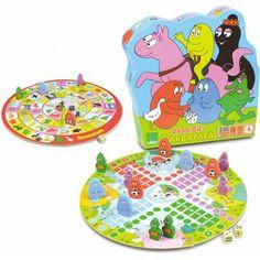 Barbapapa ganzenbord / mens erger je niet  #ganzebord #gans #Barbapapa #familie #spel #spelletje #bord