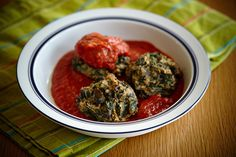 Meatless Monday Eggplant Spinach 'meatballs' | Breast Health