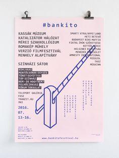 Réka Neszmélyi: Bánkitó Cultural & Music Festival 2016 identity