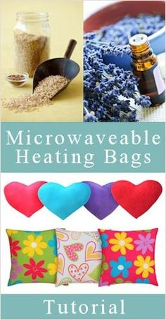 Heating pads (I like that this has ideas of what to fill them with)