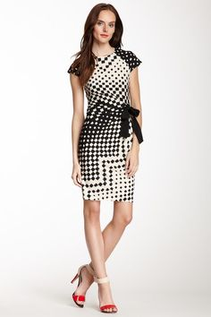 Taylor Reverse Squares Dress by Assorted on @HauteLook