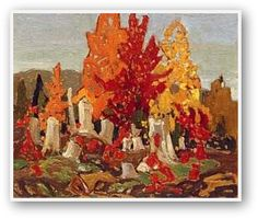 Franklin Carmichael  Red Maples