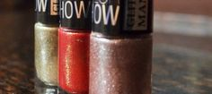 Maybelline Glitter Colorshow Red carper, Pink Champagne and All That Glitters