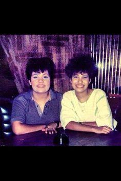 Selena and Suzette, 1987 (I think)