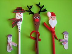 cute kid craft - wooden spoons - Re-pinned by #PediaStaff.  Visit…